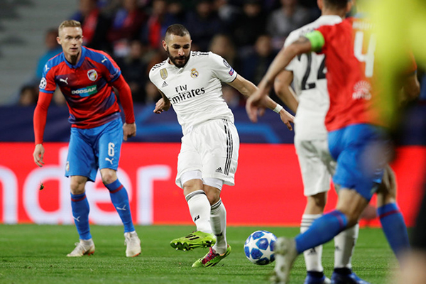 Real Madrid đại thắng ở Champions League