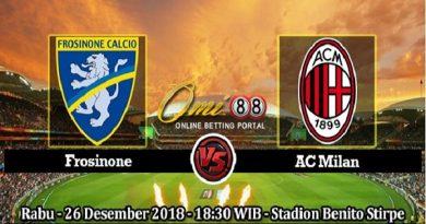 Nhận định Frosinone vs AC Milan