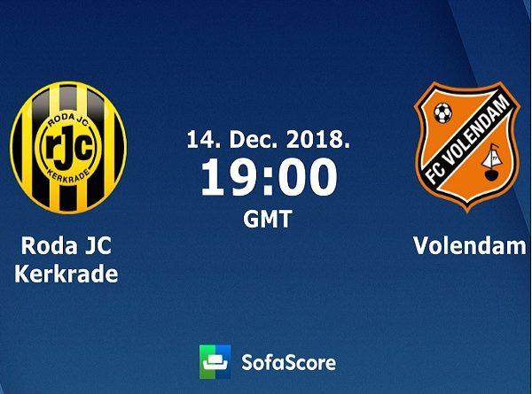 Nhận định Roda JC vs Volendam