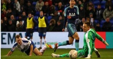 Điểm nhấn Tranmere 0-7 Tottenham Hotspur