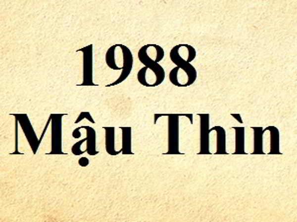 Sinh năm 1988 mệnh gì, hợp màu gì, hướng nào?