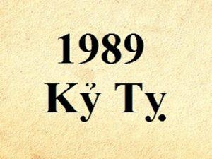 Sinh năm 1989 mệnh gì, hợp màu gì, hướng nào?