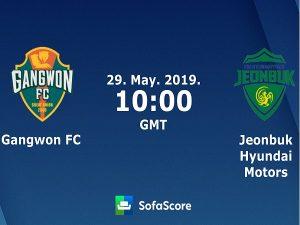 Dự đoán Gangwon vs Jeonbuk Motors, 17h ngày 29/5