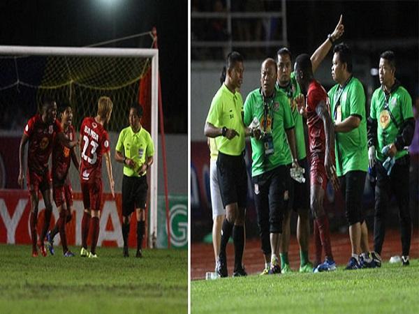 Bóng đá Thái: Trò hề V-League 2017 tái hiện