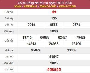 Dự đoán XSDNA 15/7/2020 chốt KQXS Đồng Nai thứ 4