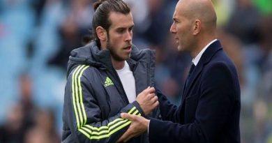 Tin chiều 23/9: HLV Zidane gửi lời chia tay đến Gareth Bale
