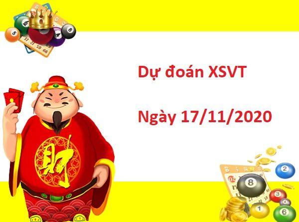 Dự đoán XSVT 17/11/2020
