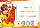 Dự đoán kết quả XS Tây Ninh Vip ngày 26/11/2020
