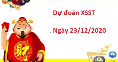 Dự đoán XSST 23/12/2020
