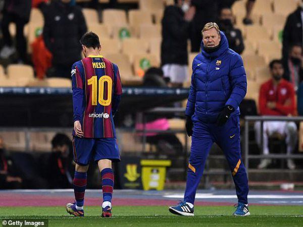 Tin bóng đá chiều 18/1: Koeman nói gì về chiếc thẻ đỏ của Messi