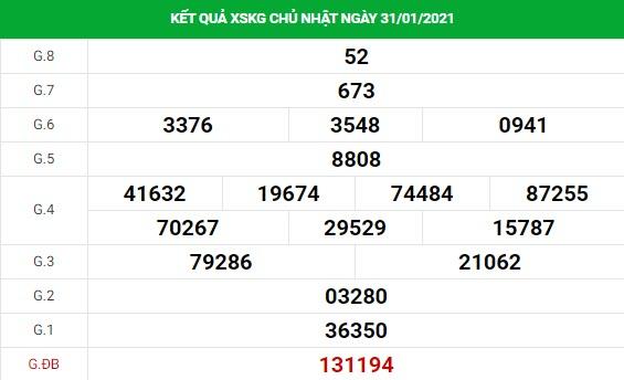 Dự đoán kết quả XS Kiên Giang Vip ngày 07/02/2021