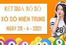 Dự đoán xổ số Miền Trung thứ 5 ngày 29/4/2021