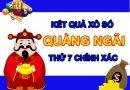 Dự đoán XSQNG 31/7/2021 chốt loto số đẹp Quảng Ngãi