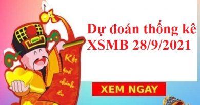 Dự đoán thống kê XSMB 28/9/2021