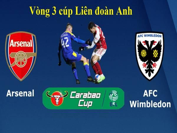 Soi kèo Châu Á Arsenal vs Wimbledon, 01h45 ngày 23/9